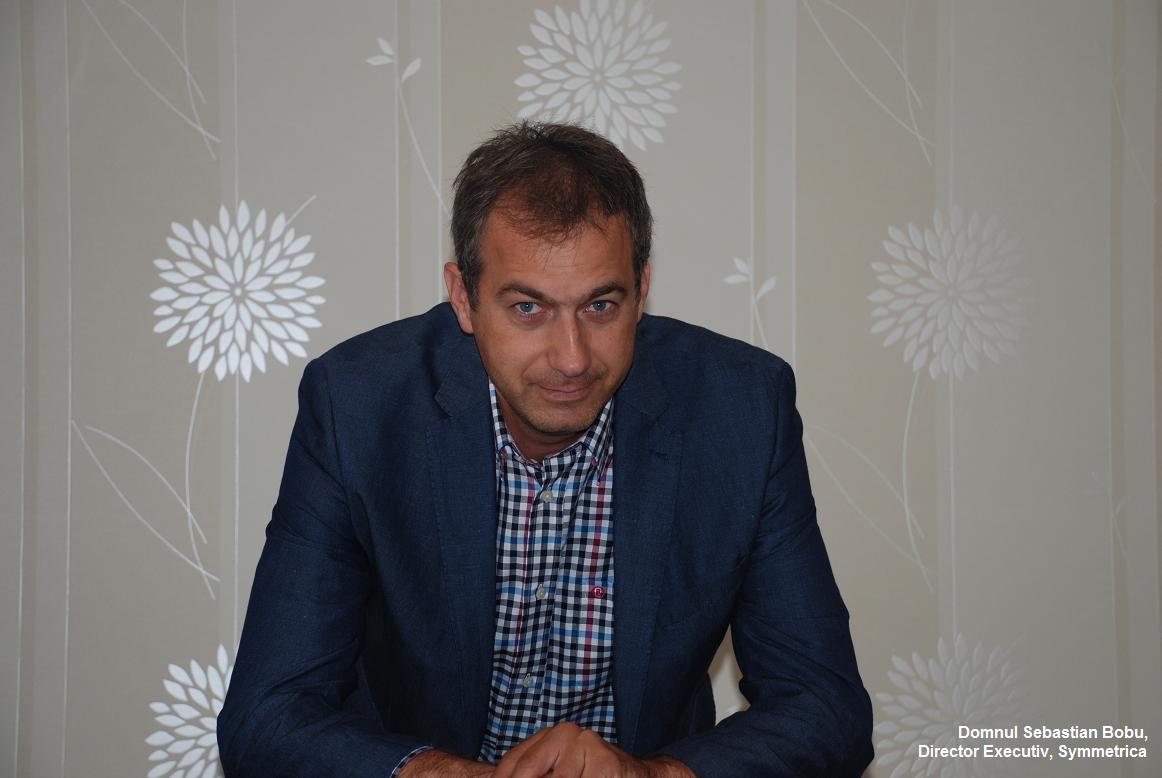 Sebastian Bobu, Director Executiv Symmetrica - InfoPardoseli
