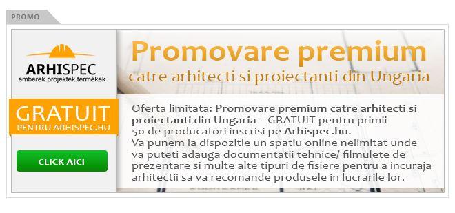 Promovare premium catre Arhitecti in Ungaria1