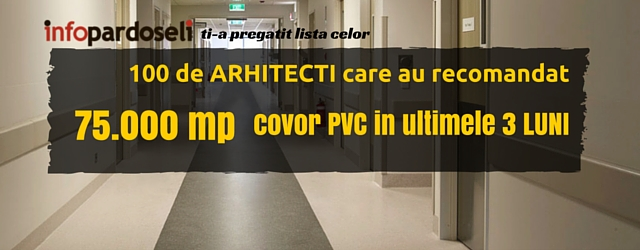 100 arhitecti covor pvc