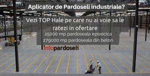 Aplicator de pardoseli industriale