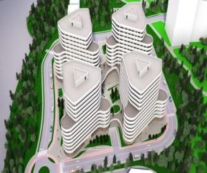 Ansamblu de 300 apartamente Cluj 1